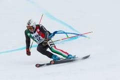 BLARDONE Massimiliano (ITA). Alta Badia, ITALY 22 December 2013. BLARDONE Massimiliano (ITA) competing in the Audi FIS Alpine Skiing World Cup MEN'S GIANT SLALOM Royalty Free Stock Photography