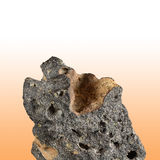Blaren vormend Basalt stock foto's