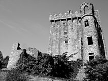 Blarney Castle Black and White Stock Photos