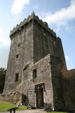 Blarney castle, county cork, ireland. Popular place for american visitors and tourists, ireland - blarney castle and blarney stone placed on the top of the tower Royalty Free Stock Image