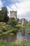 Blarney Castle and Grounds with slow running stream Royalty Free Stock Photography