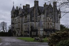 Old Blarney Castle House In Ireland stock photography