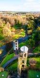 Blarney Castle in Ireland in autumn Royalty Free Stock Image