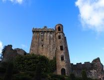 Blarney Castle Ireland. Blarney Castle County Cork Ireland against a blue sky Stock Images