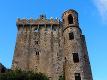 Blarney Castle Ireland. Blarney Castle County Cork Ireland against a blue sky Royalty Free Stock Image