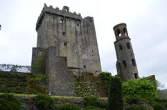 Blarney Castle, Ireland. Exterior.  Medieval stronghold near Cork in southern Ireland.  Dates back to 1446 Stock Images