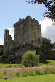 Blarney Castle. (Irish: Caisleán na Blarnan) is a medieval stronghold in Blarney, near Cork, Ireland, and the River Martin. Though earlier fortifications were Stock Photo