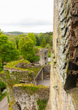 Blarney castle near Cork. Blarney Castle or Caislean na Blarnan is a famous old Irish castle renowned for the Blarney stone that many people come to kiss. It is Stock Photo