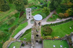 Blarney Castle. From the Blarney stone tower Royalty Free Stock Images