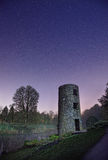 Blarney Castle. Tower at night,Blarney,Co.Cork,Ireland Royalty Free Stock Images
