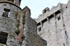 Blarney okręgu administracyjnego korek, Irlandia, Sierpień,/- 14 2018: Blarney kasztel budował w fifteenth wieku królewiątkiem Mu zdjęcie stock