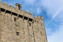 Blarney okręgu administracyjnego korek, Irlandia, Sierpień,/- 14 2018: Blarney kasztel budował w fifteenth wieku królewiątkiem Mu fotografia royalty free