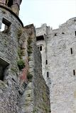 Blarney okręgu administracyjnego korek, Irlandia, Sierpień,/- 14 2018: Blarney kasztel budował w fifteenth wieku królewiątkiem Mu obraz stock