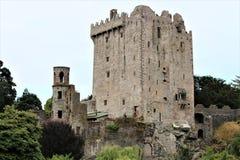 Blarney okręgu administracyjnego korek, Irlandia, Sierpień,/- 14 2018: Blarney kasztel budował w fifteenth wieku królewiątkiem Mu fotografia stock