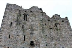 Blarney okręgu administracyjnego korek, Irlandia, Sierpień,/- 14 2018: Blarney kasztel budował w fifteenth wieku królewiątkiem Mu zdjęcia stock