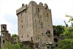 Blarney okręgu administracyjnego korek, Irlandia, Sierpień,/- 14 2018: Blarney kasztel budował w fifteenth wieku królewiątkiem Mu zdjęcia royalty free