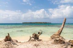 blas wyspy Panama San zdjęcie royalty free