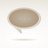 Blase für Rede vektor abbildung