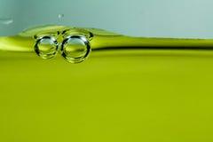 Blasen mit Wasser Lizenzfreies Stockbild