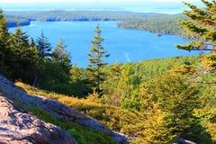 Blasen-Teich Acadia-Nationalpark Lizenzfreies Stockfoto