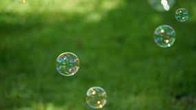 Blasenspaß stockfotografie