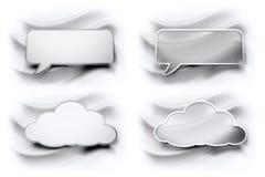 Blasenwolken Stockbilder