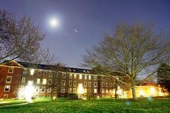 Blask księżyca i gwiazdy zdjęcie stock