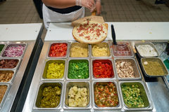 Blask pizza zdjęcia royalty free