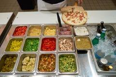 Blask pizza obrazy stock