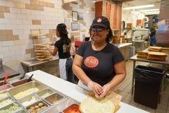 Blask pizza zdjęcia stock