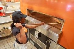 Blask pizza Zdjęcie Stock