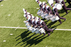 Blaskapelle Drumline Stockfotos