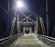 Blasku księżyca most zdjęcie stock