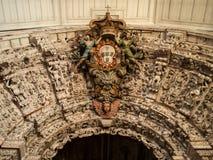Blasone della chiesa di Constancia Mesiricordia Fotografie Stock