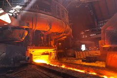 Blast Furnace Royalty Free Stock Photos