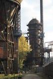 Blast furnace. Lower area of Vítkovice in Czech Republic -blast furnace Stock Photos