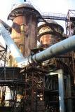 Blast furnace. In Ostrava,Czech Republic- project of theNew Vítkovice Royalty Free Stock Photos