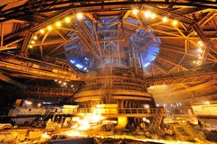 Blast furnace Royalty Free Stock Photography