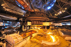 Blast furnace Stock Image