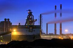 Blast Furnace stock photography