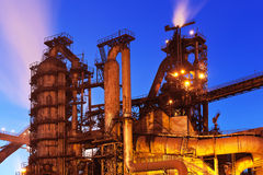 Blast furnace equipment Royalty Free Stock Image