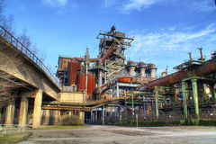 Blast Furnace - Old Industry Stock Photography
