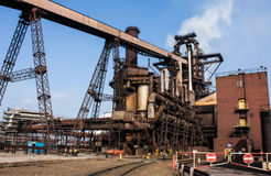 Blast Furnace plant. At united kingdom Stock Photo