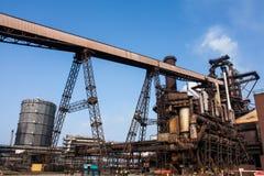 Blast Furnace plant. At united kingdom Royalty Free Stock Photo