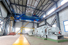 blast furnace TRT Unit in a power plant royalty free stock image