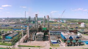 Blast furnaces and other elements of the black metallurgical industries and the chemical industry a view of the