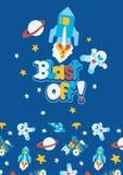 Blast off. Royalty Free Stock Image