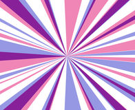 Blast of stars. Abstract pink blue and white burst vector illustration