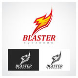 Blasterskvadron Royaltyfri Illustrationer