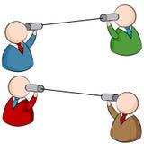 Blaszanej puszki komunikacja ilustracja wektor